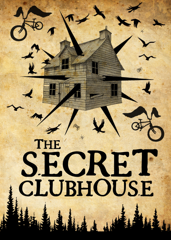 the secret clubhouse in Ipswich Escape Rooms